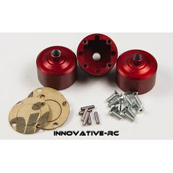 3x Thunder Tiger Differential Case MT4 G3 Red