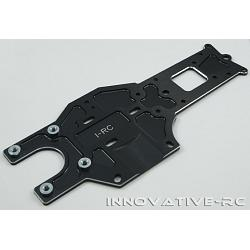 Rear Chassis Plate 7075-T6 V3 - 87482 - Black