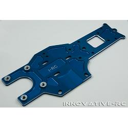 Rear Chassis Plate 7075-T6 V3 87482 - Blue