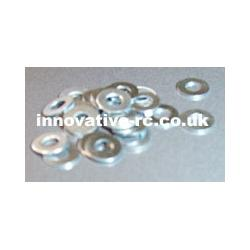 M3 washers - Zinc plated bag 20