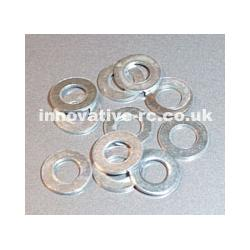M4 Washer Zinc plated bag 20